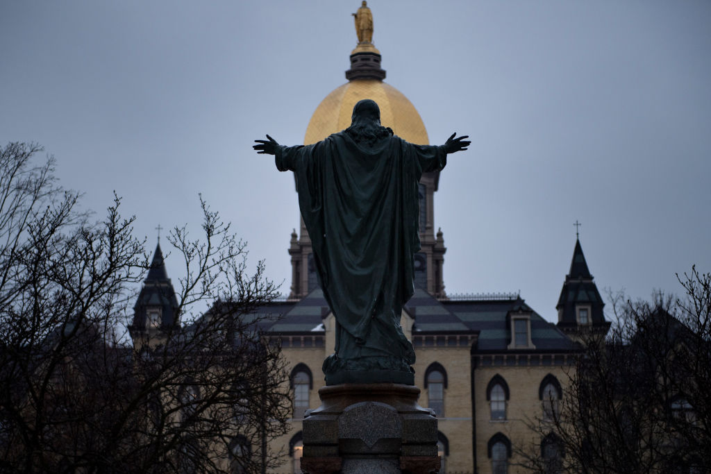 Notre Dame sends campus activities remote but spares football, for now