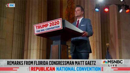 Matt Gaetz Blasts 'Woketopians' Who 'Settle for Biden'