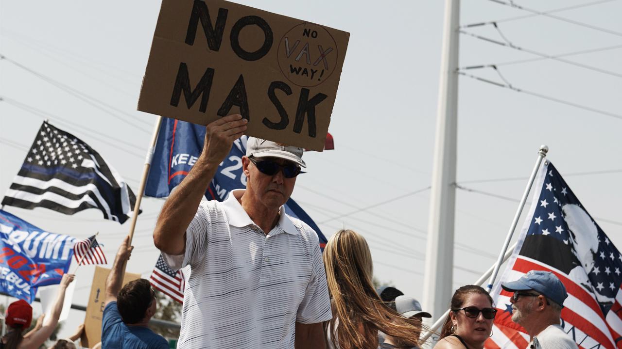 Anti-Mask, Anti-Vax, Pro-Trump