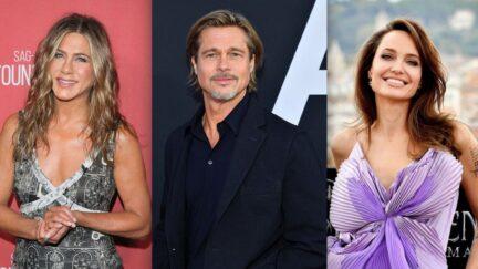 Brad Pitt Jennifer Aniston Angelina Jolie