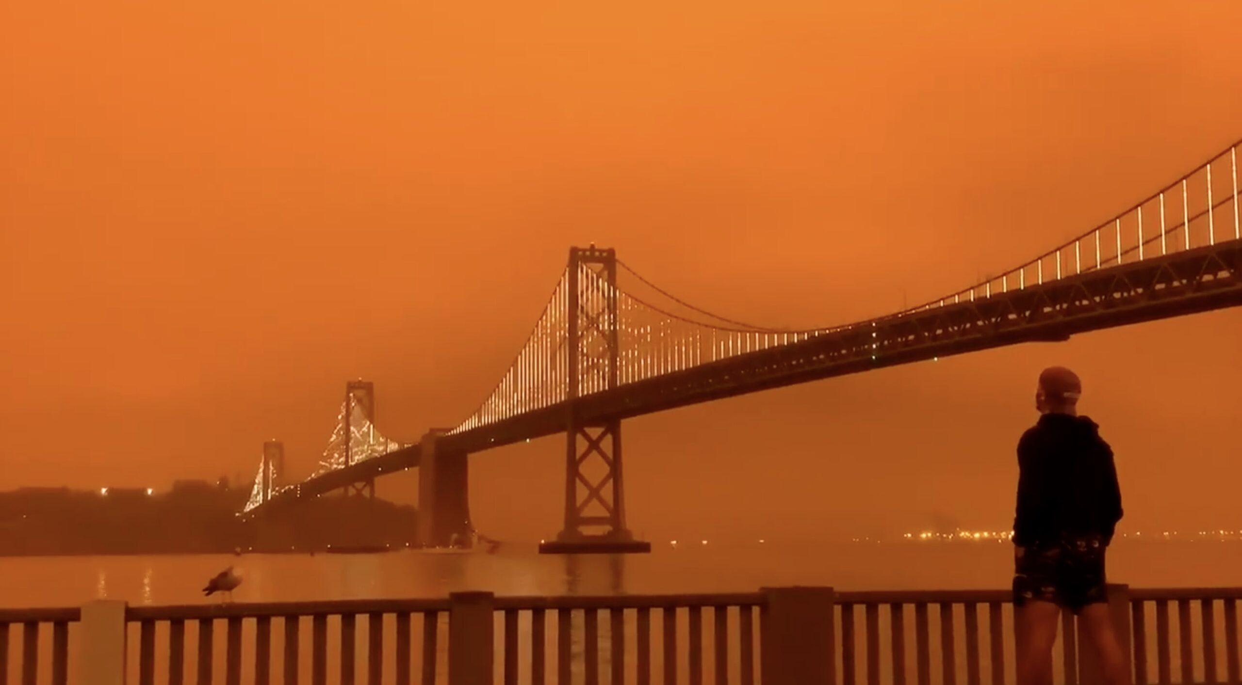 san fran orange sky