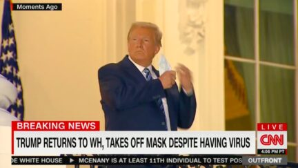 CNN Panel Torches Trump Over Mask-Free WH Balcony Photo Op