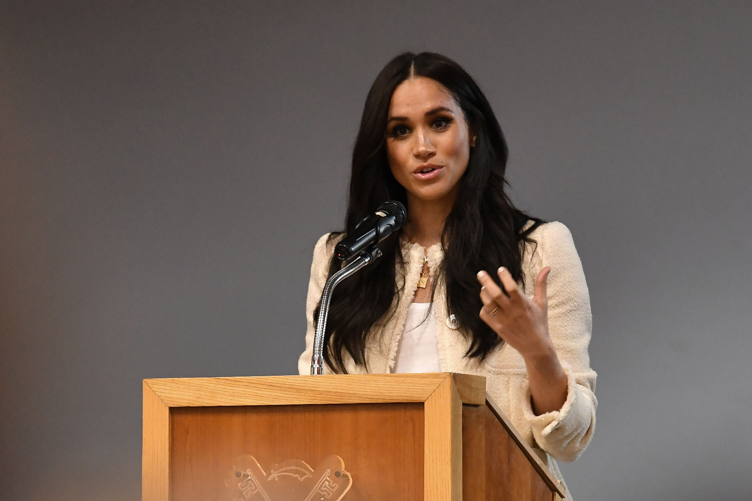 Meghan Markle defends hard  decisions she's made for her family