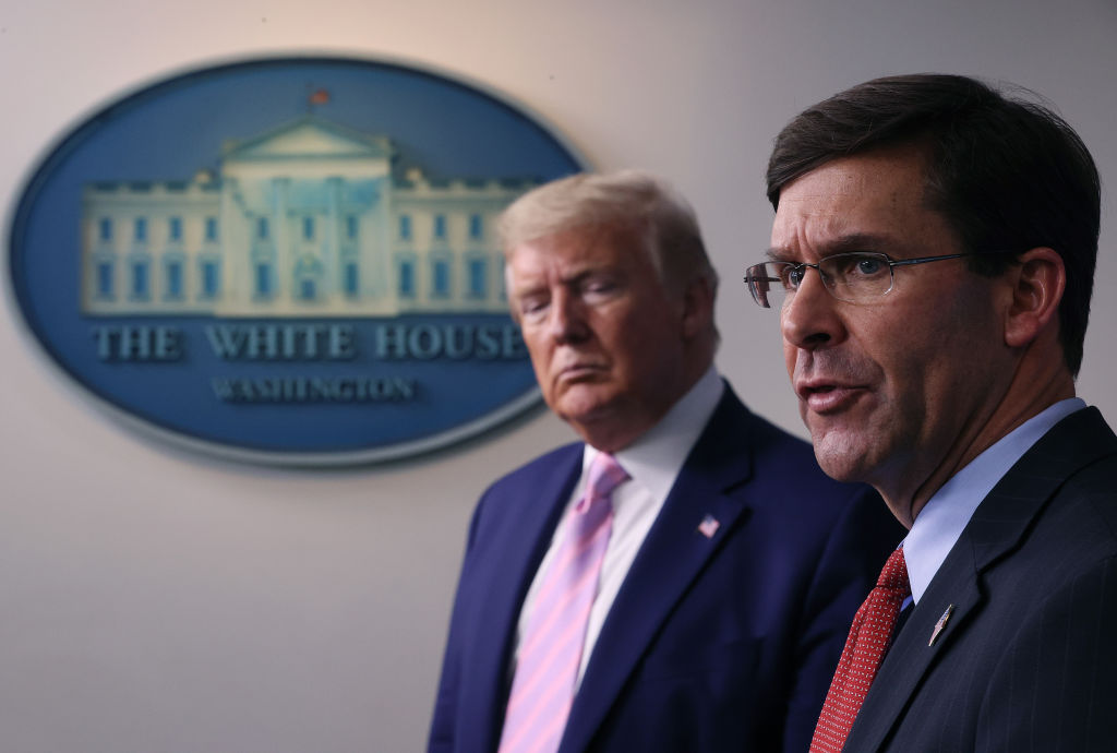 Trump fires Mark Esper, names Christopher Miller as new Defense Secretary