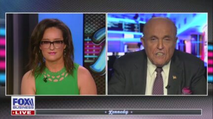 Kennedy Gets Shouted at by Giuliani
