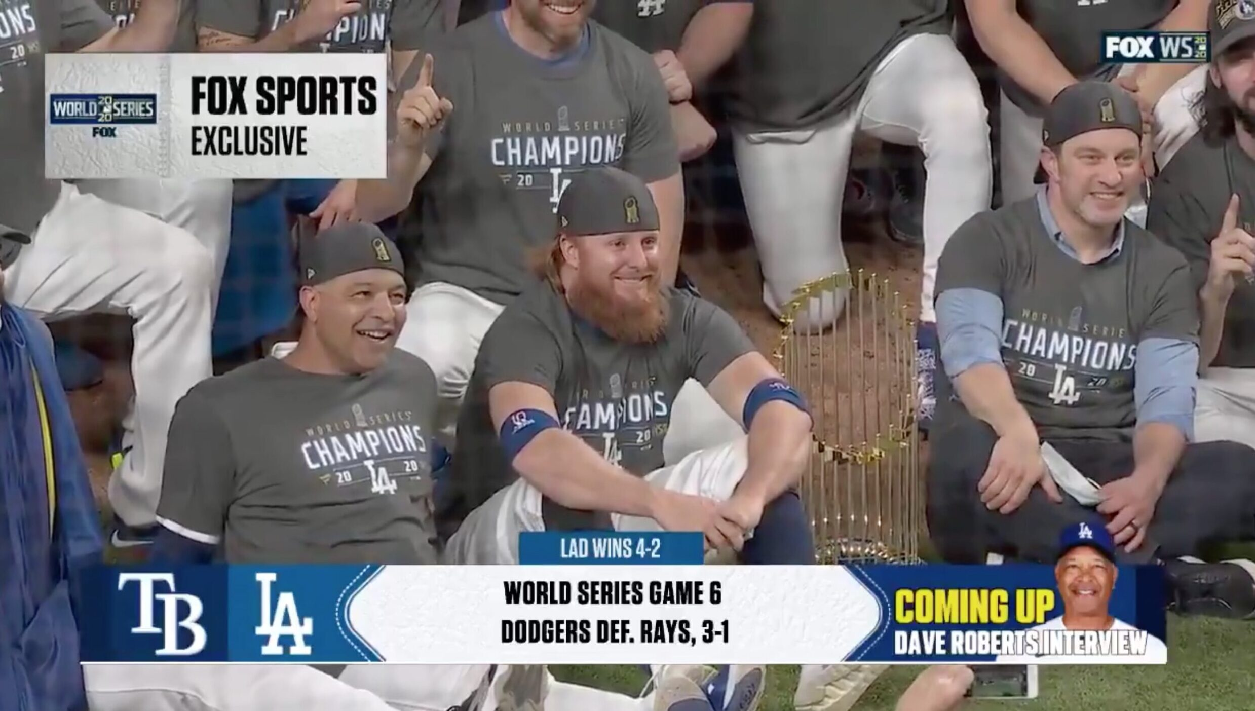 Picture of Justin Turner Goes Viral After Positive COVID-19 Test