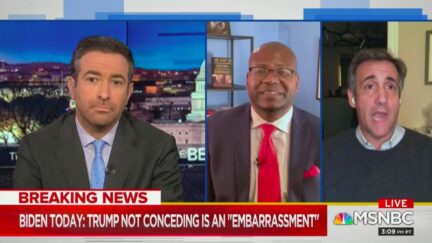 Michael Cohen Predicts Trump Leaves WH Early, Skips Inauguration