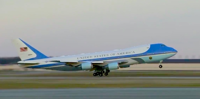 Air Force One Leaves for Mar-A-Lago with Covid Relief, Defense Budget, Gov't Shutdown Up in the Air