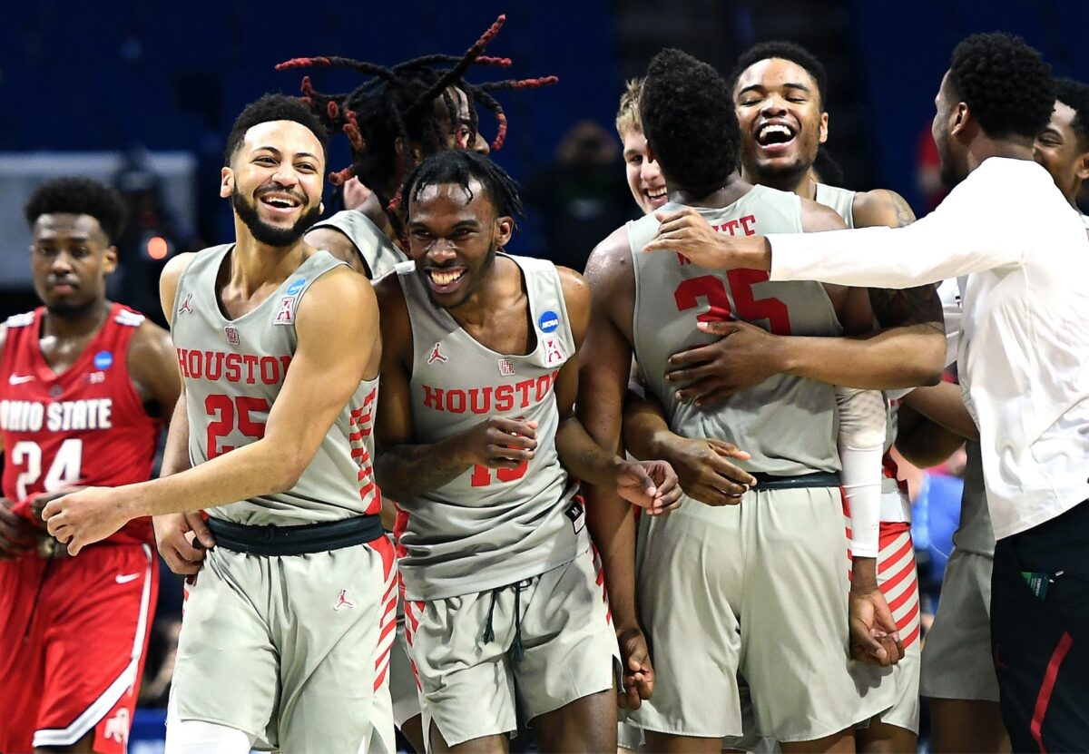 Cougars Basketball Stacy Revere/Getty Images