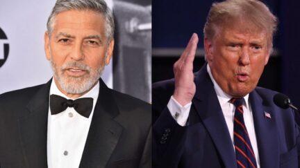 George Clooney Donald Trump