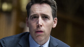 Josh Hawley looking confused
