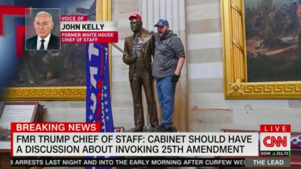 Former White House Chief of Staff John Kelly Would Vote to Invoke 25th Amendment and Remove Trump