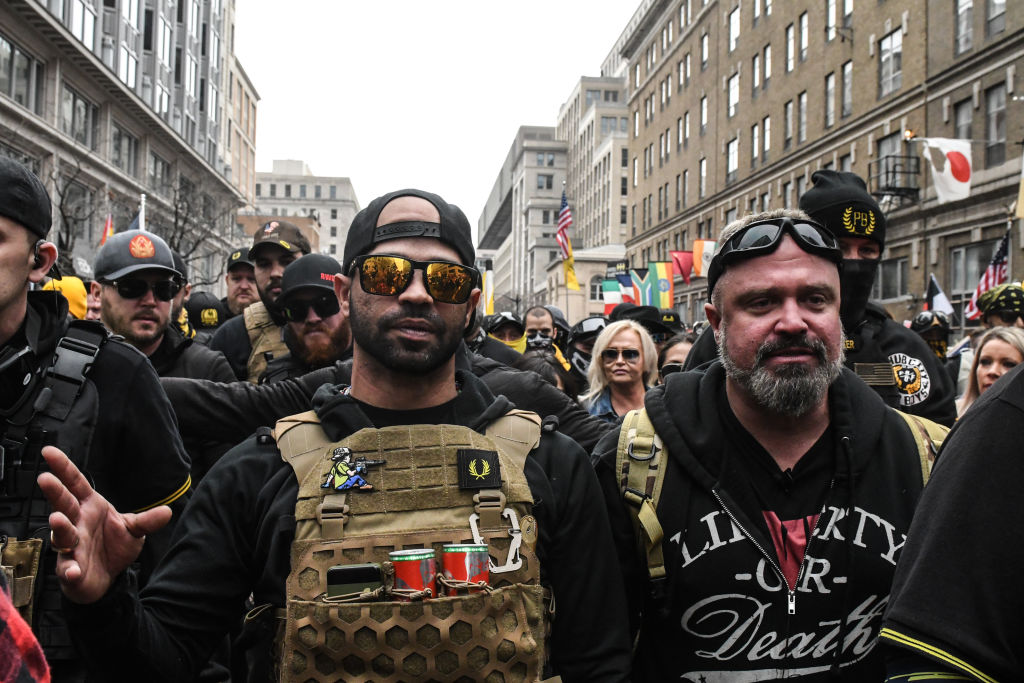 Proud Boys leader Enrique Tarrio arrested in D.C