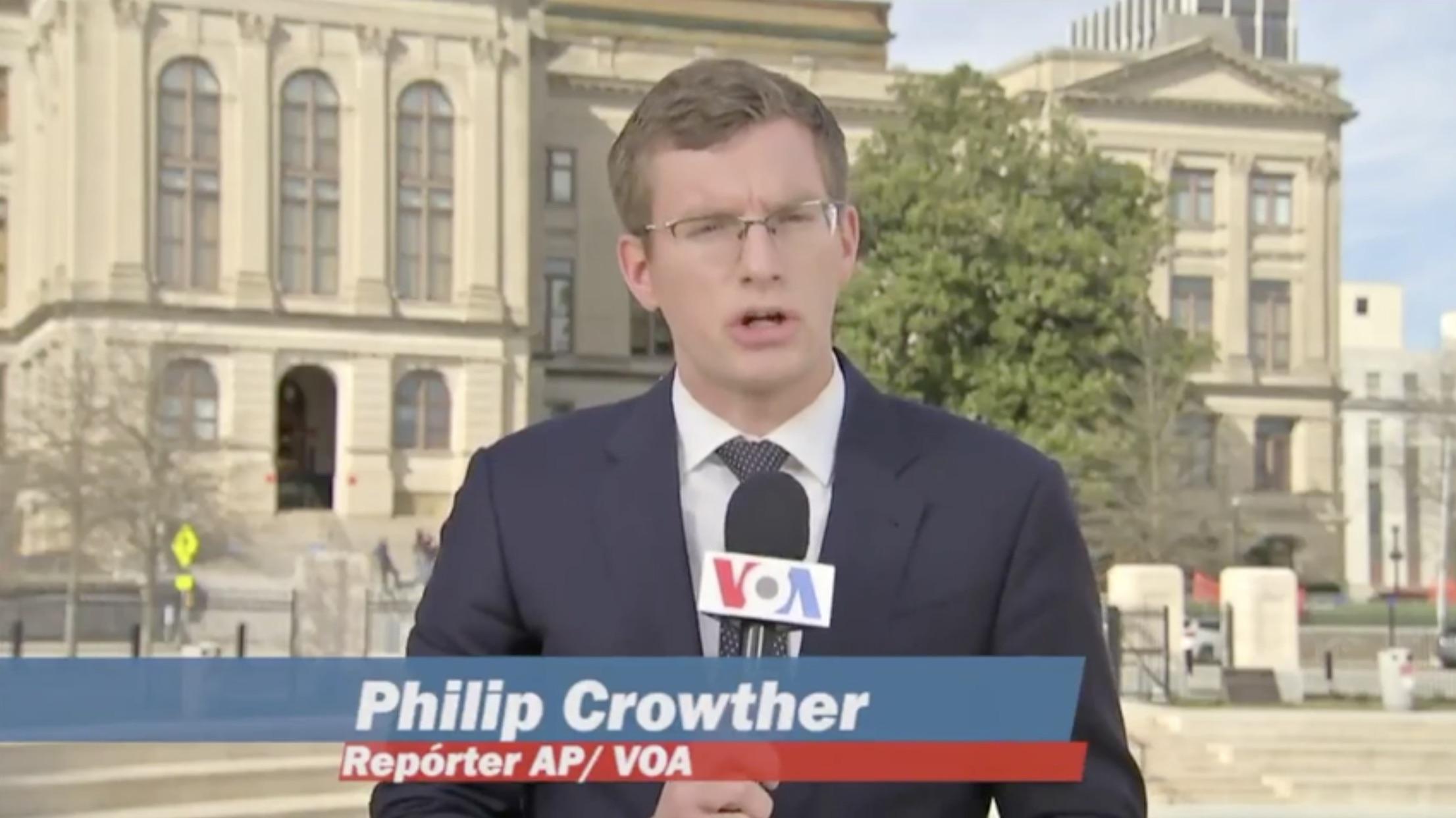 Polyglot journalist Philip Crowther