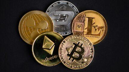Bitcoin Ethereum XRP Dash LiteCoin Cryptocurrency