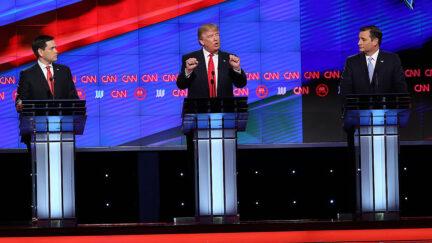 marco rubio donald trump ted cruz 2016 debate
