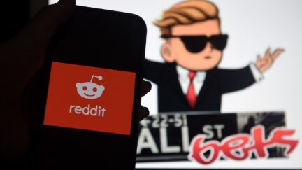 Reddit WallStreetBets Olivier Douliery/Getty Images