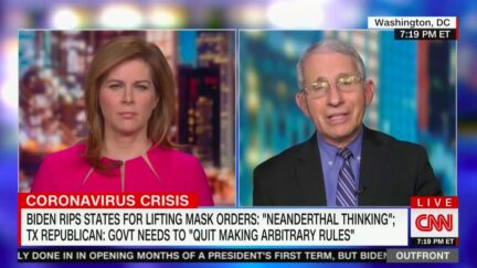 Anthony Fauci Knocks 'Inexplicable' Decisions by TX, MS Govs to End All Covid Restrictions