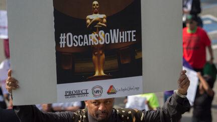 OscarSoWhite protest