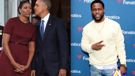 Obamas Kevin Hart