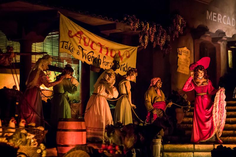 pirates of the caribbean walt disney world