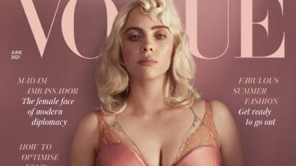 Billie Eilish NYT British Vogue