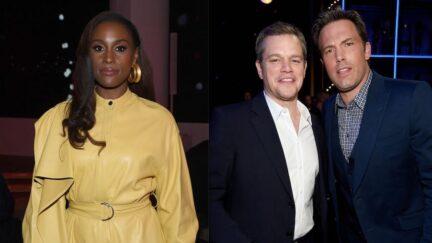 Issa Rae Ben Affleck Matt Damon