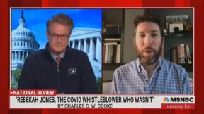 Joe Scarborough and Charles Cooke on Morning Joe