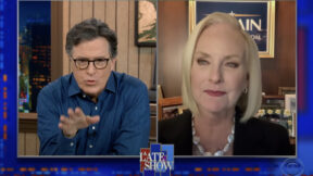 cindy mccain on stephen colbert