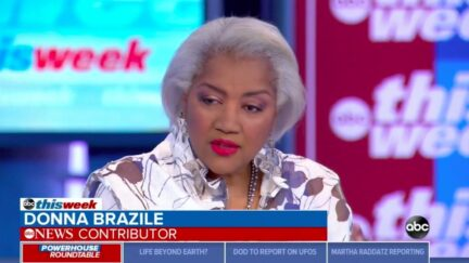 Donna Brazile appears on ABC News