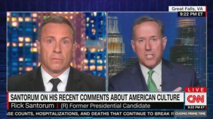 Chris Cuomo grills Rick Santorum