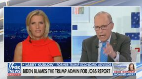 Larry Kudlow on Laura Ingraham