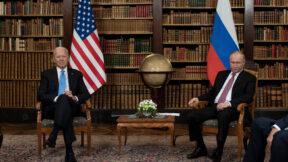 Biden and Putin Body Language