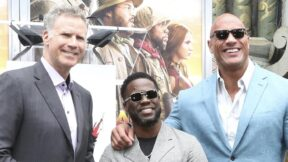 Kevin Hart Dwayne Johnson Rock Will Ferrell