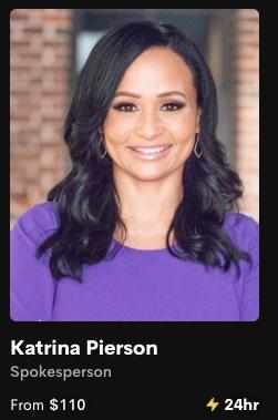 Katrina Pierson Cameo