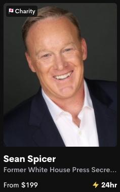 Sean Spicer Cameo