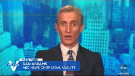 Dan Abrams on The View