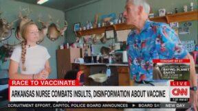 Elle Reeve CNN Report on AntiVax in Arkansas