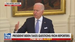 Joe Biden Spars with Peter Doocy