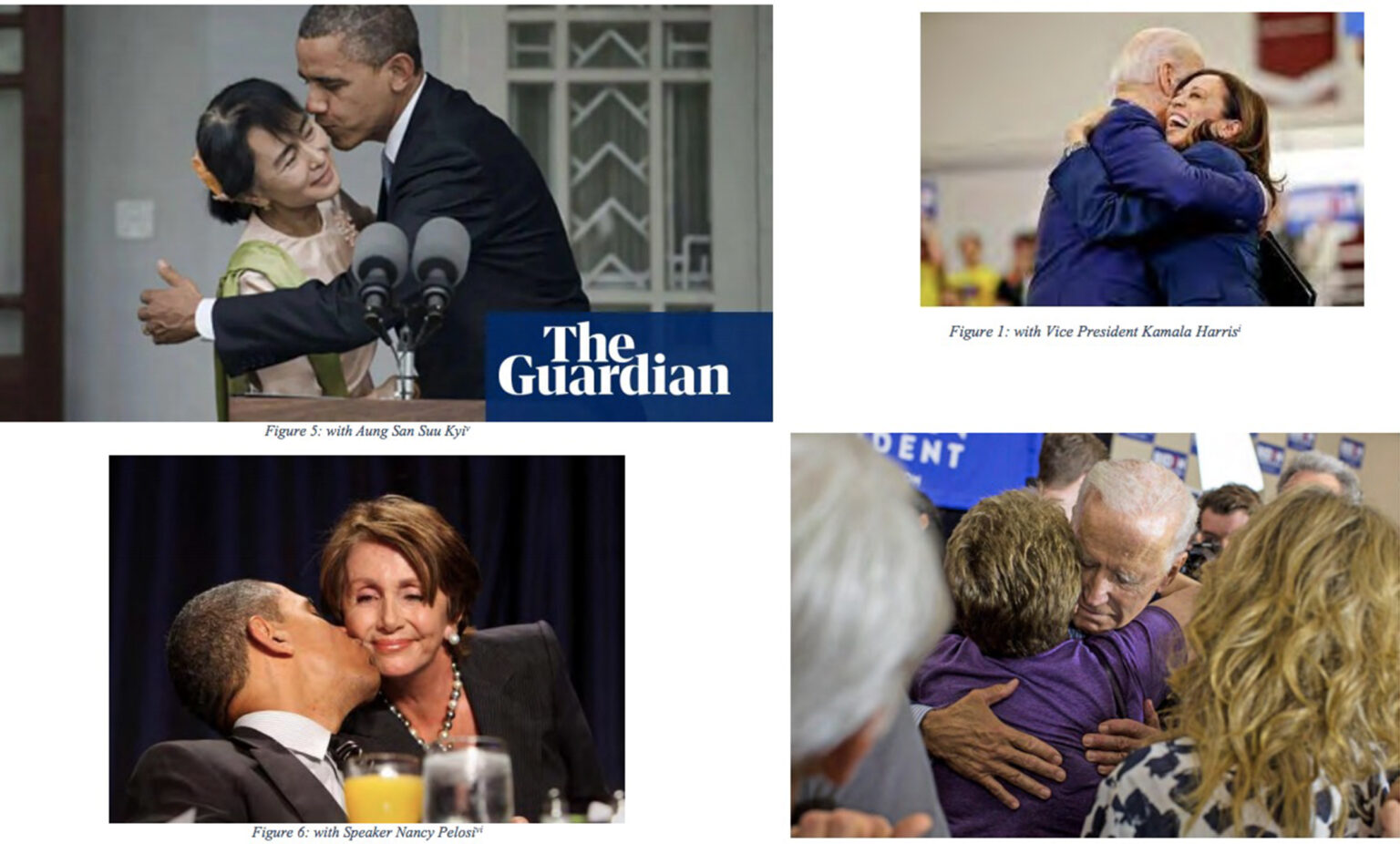 Cuomo's Response to Investigation Includes Photo Trove of Biden, Harris, Obama and More Hugging and Kissing People