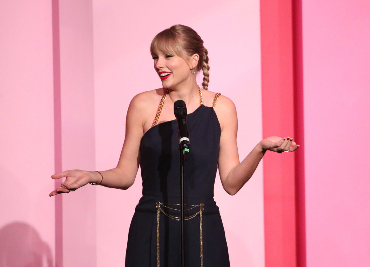 Taylor Swift at Billboard Women In Music 2019 Presented By YouTube Music