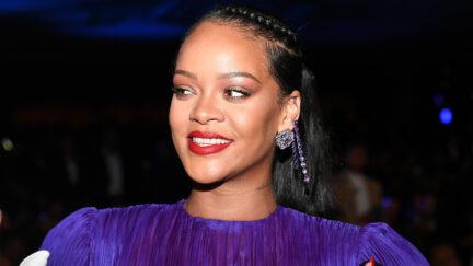 Rihanna at BET Presents The 51st NAACP Image Awards