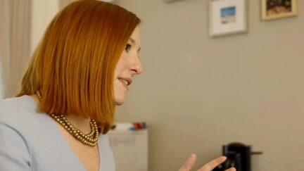 Jen Psaki profile office 2-16