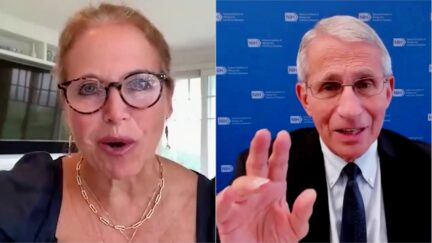 Katie Couric Dr. Anthony Fauci 8-4
