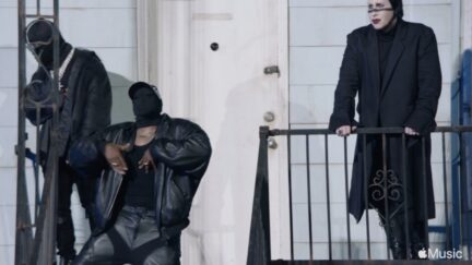 Kanye West, DaBaby, Marilyn Manson at Donda