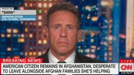 Chris Cuomo Speaks With American Stuck in Afghanistan