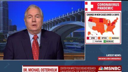 Epidemiologist Michael Osterholm