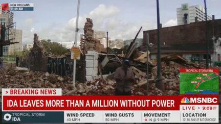 Al Roker Reports on Hurricane Ida Devastation