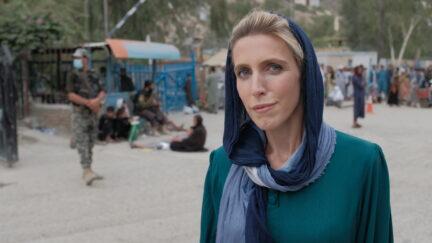 Clarissa Ward at Pakistan-Afghanistan border