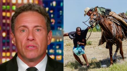 Chris Cuomo Compares Whipping Border Images to Slavery Era — Then Defends Agents as 'Doing Their Jobs'